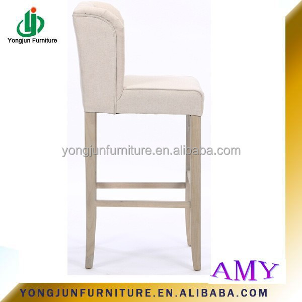 Style fran ais bois massif conception en bois tabouret de for Chaise haute pour salle a manger