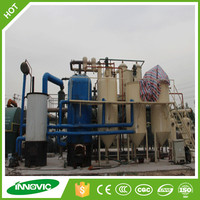 Waste lube oil recycling distillation plant vacuum distillation system