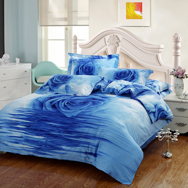 cheap plain printed coming home bedding