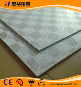 7/8/9mm cheaper Gypsum Ceiling tiles / PVC Laminated Gypsum Ceiling Tiles
