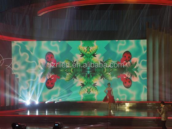 Shenzhen indoor advertising p5 hd led video wall