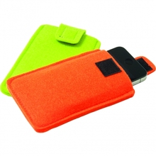 Wholesale durable felt mobile phone pouch