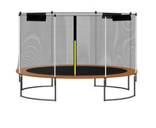 12ft bungee and luxury trampolines with enclosures for sale for children and adults