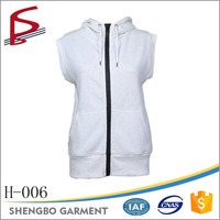 Wholesale 65% cotton 35% polyester zip up hoodies wholesale