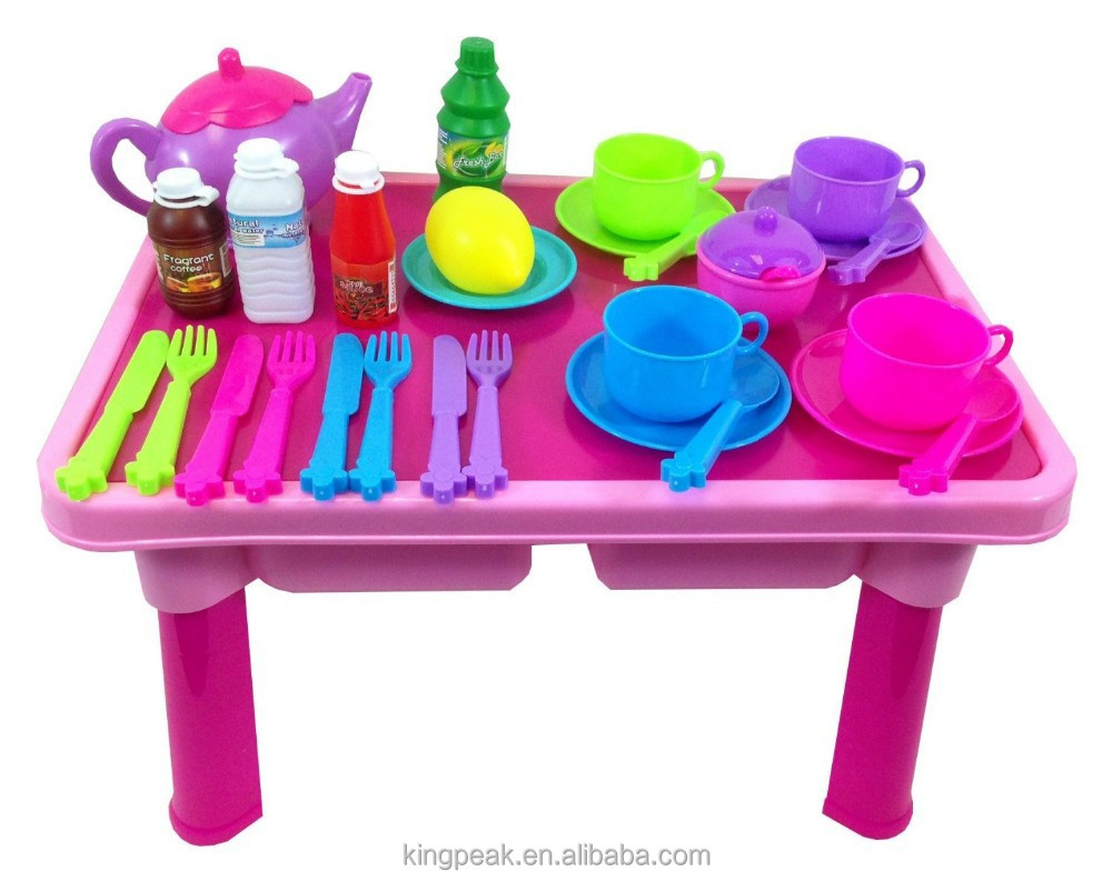 Table Top Toys For Preschoolers : Best selling childrens kids toy pretend tea set and