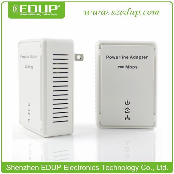 In Wall AP Wall Wireless Receiver 200Mbps WiFi Repeater HomePlug AV Modem Router