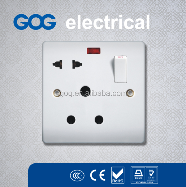 switch socket Leakage Protection Portable Electric Switch And Socket Chinese Manufacture/leakage protective switch 250V 15A&16A