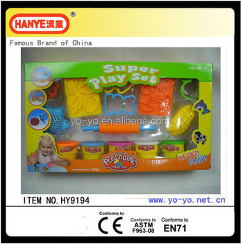 HY9194 The Most Popular Colorful Dough Super Tool Play Set Toys