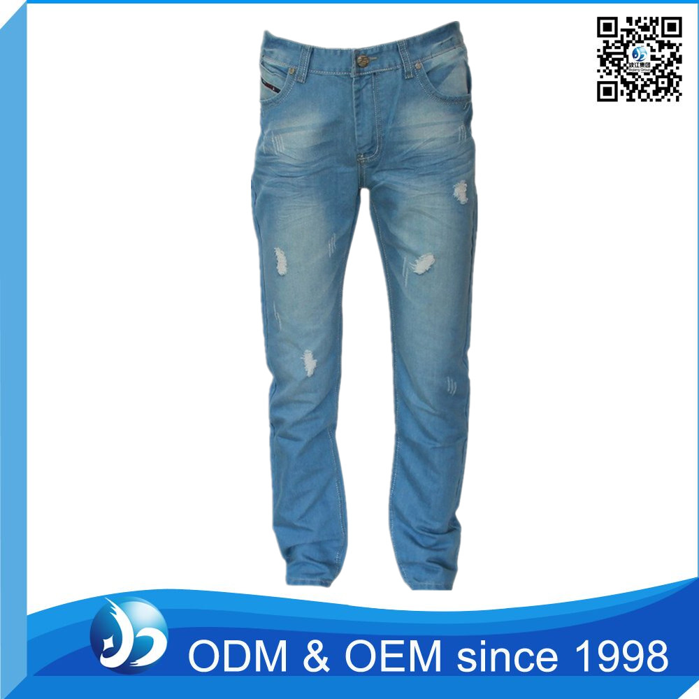 OEM Service Ripped Trousers Jeans Pant Suits