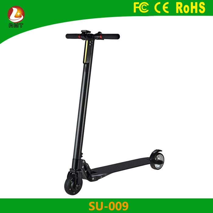 high quality nextdrive 5 inch wheels high torgue motor Carbon Fiber Electric Scooter 8.8AH 24V 280W