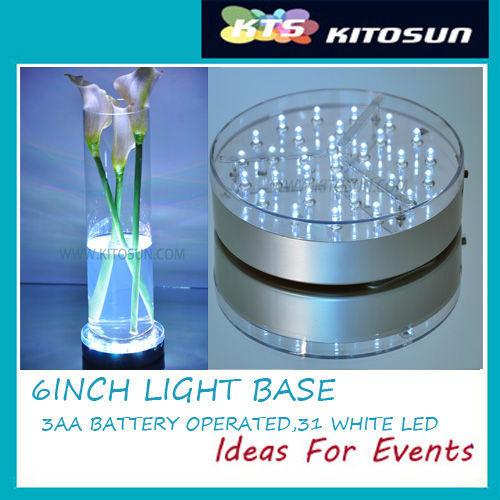 String Lights Under Table : Wedding Table Lighting Led Light Base Under Sheer Glassware - Buy Led Light,Led Light Base ...