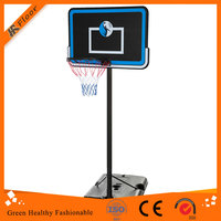 Portable Basketball Stand with Baskatball and Inflator Youth Portable Basketballs Goal