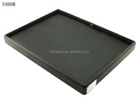 Custom Hot Salet PU Wooden Jewelry Display Tray With Soft Foam S466M
