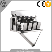 Automatic Linear Weigher Weighing Machine Detergent Powder Filling Packing Machine