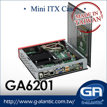 GA6201 OEM / ODM Mini ITX And Computer Industrial Chassis