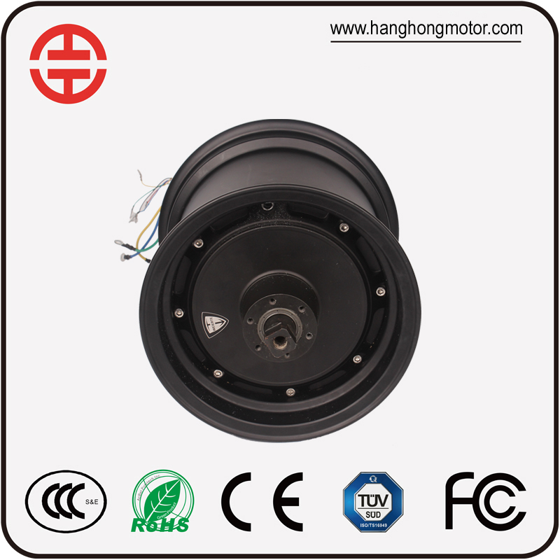 Harley citycoco 1500w brushless dc hub motor factory direct sale