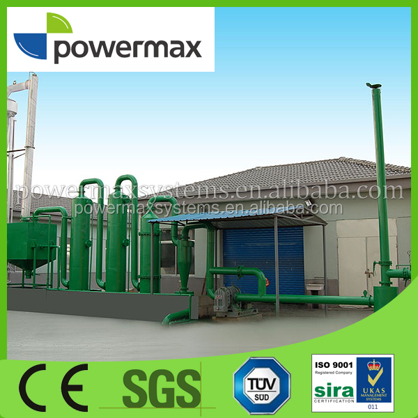 combined heat and power 50kw biomass gasifier power plant
