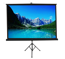 "SNOWHITE 70"" 16:9 Format 3V070MTS cheap portable tripod projection screen"