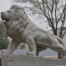 hot sale antique marble lion statues for sale