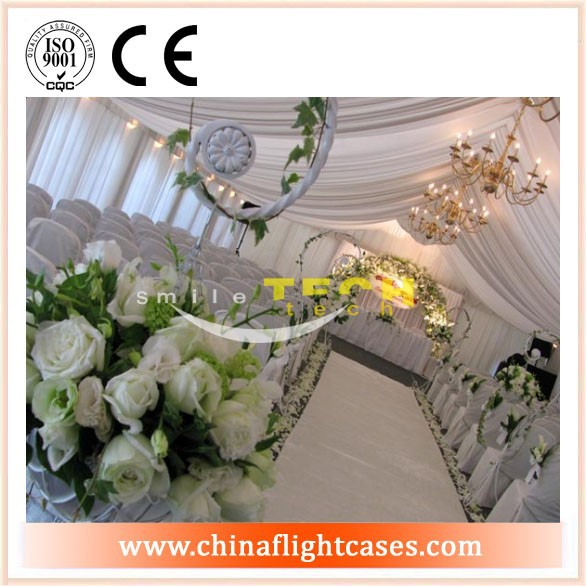 event hall Aluminum Backdrop Stand Pipe Drape, pipe drapery ,wedding , party