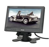 Car 7 inch Pillow TFT LCD Color Monitor 2CH Video Input car monitor