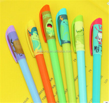 Creative cute little rubbing head erasable pen thermal erasable pen The friction pen PN6285