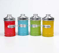 Colored Glass Canning Jars With Metal Lids Wholesale