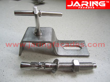 stainless steel 304 316 stone fixing anchors,z anchors,wall anchors