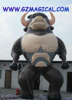 Inflatable vivid Cartoon Bull Model/Inflatable advertising