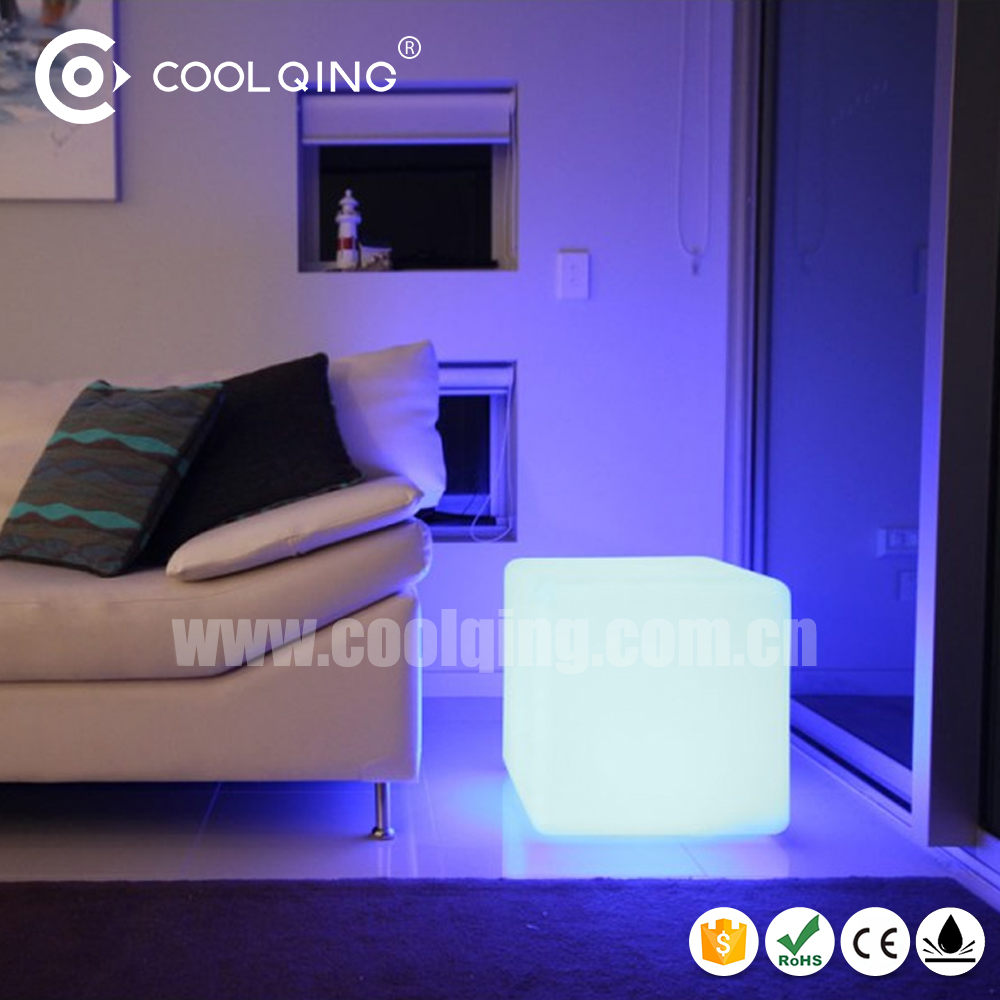 led cube,led cube chair/ cube seat for <strong>sofa</strong>
