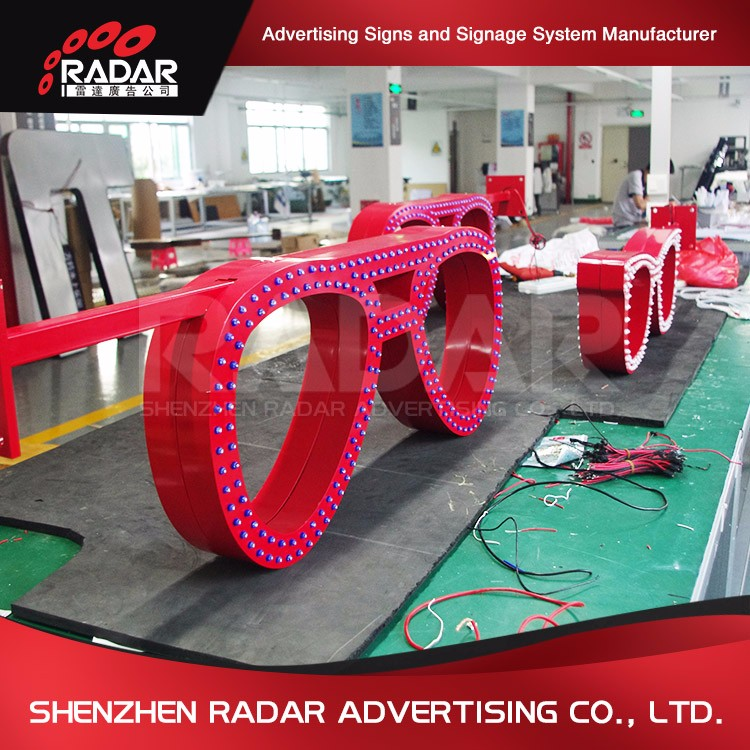 Creative Design OEM mobile led signs for Advertising Light Boxes