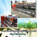 Corrugated cardboard slitting scoring thin knife machine