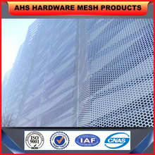5mm thick wall decoration stainless steel perforated sheet