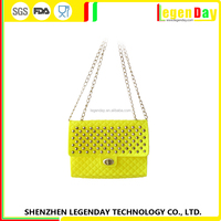 Popular silicone mobile phone shoulder bag