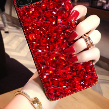 Top Selling Luxury Phone Accessories Crystal Bling for iPhone 6 7 7plus Case Unique Diamond Phone Case for iPhone X 8 8plus