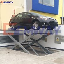 Outdoor scissor car lift platform for home garages with CE