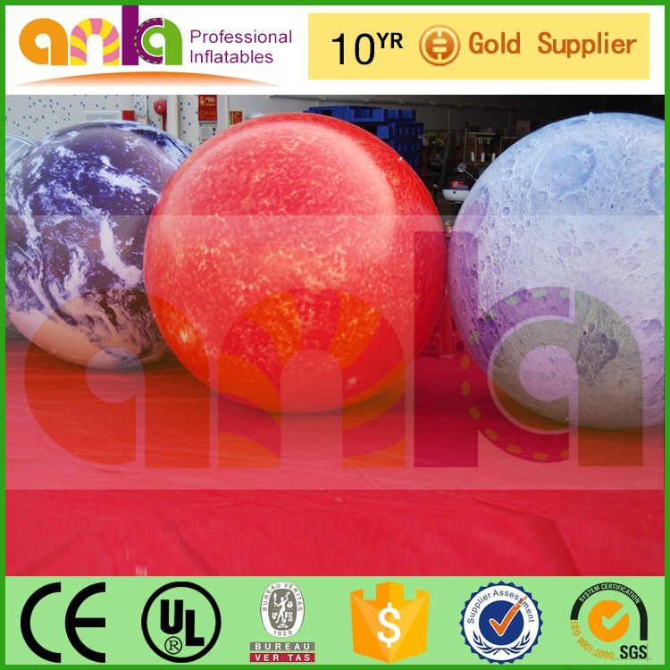 floating inflatable balloon with logo(advertising,promotion,helium,2m)