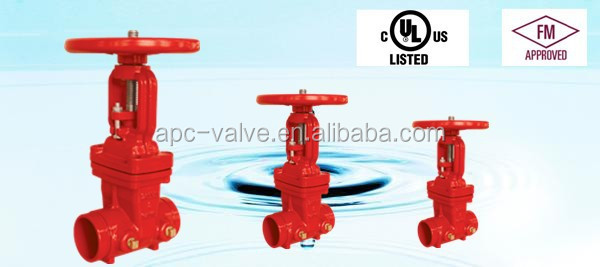 200PSI-OS&Y Type Grooved End Gate Valve