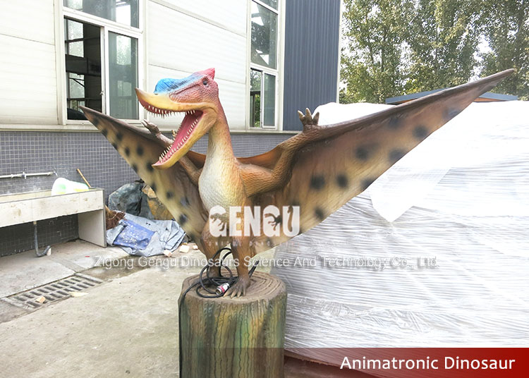 Zoo Park Decoration Life Size Resin Artificial Dinosaur