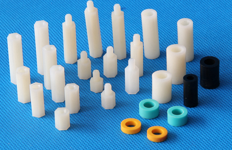 Nylon PA66 -Single head inner thread spacer, support spacer