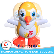 Factory manufacturer battery operated small plastic toy chicken with music light