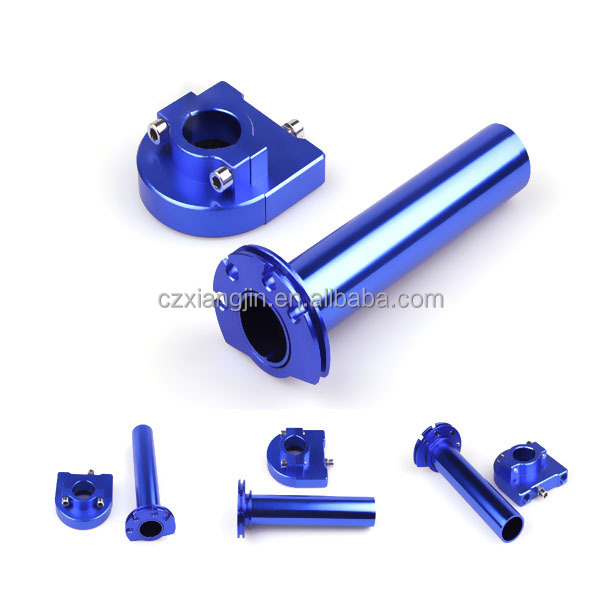 Sport Dirt Bike Scooter CNC aluminum Anodized Hand Grip Throttle Tube