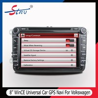 8 Inch Auto DVD Player For VW With Radio/Navigation/SWC/GPS/MP5