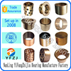 Alibaba best selling bearing forklift parts,flanged brass bushing,brass bushing