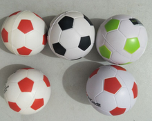 Wholesale Customized PU foam football/basketball 6.3CM 5CM 4CM Soft reducing pressure Ball,stress ball toy