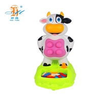 Intellectual education funny water spray cows tricky toys to children