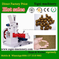 Livestock floating and fish feed pellet machine