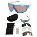cool style wide frame outdoor sport sunglasses