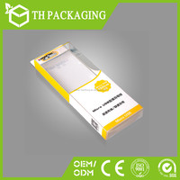 slide open box pvc packaging small box made in China