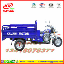 China KAVAKI motor high quality electric start gasoline tricycle for cargo